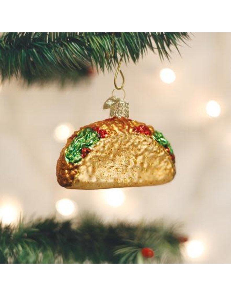 Old World Christmas Ornament Taco