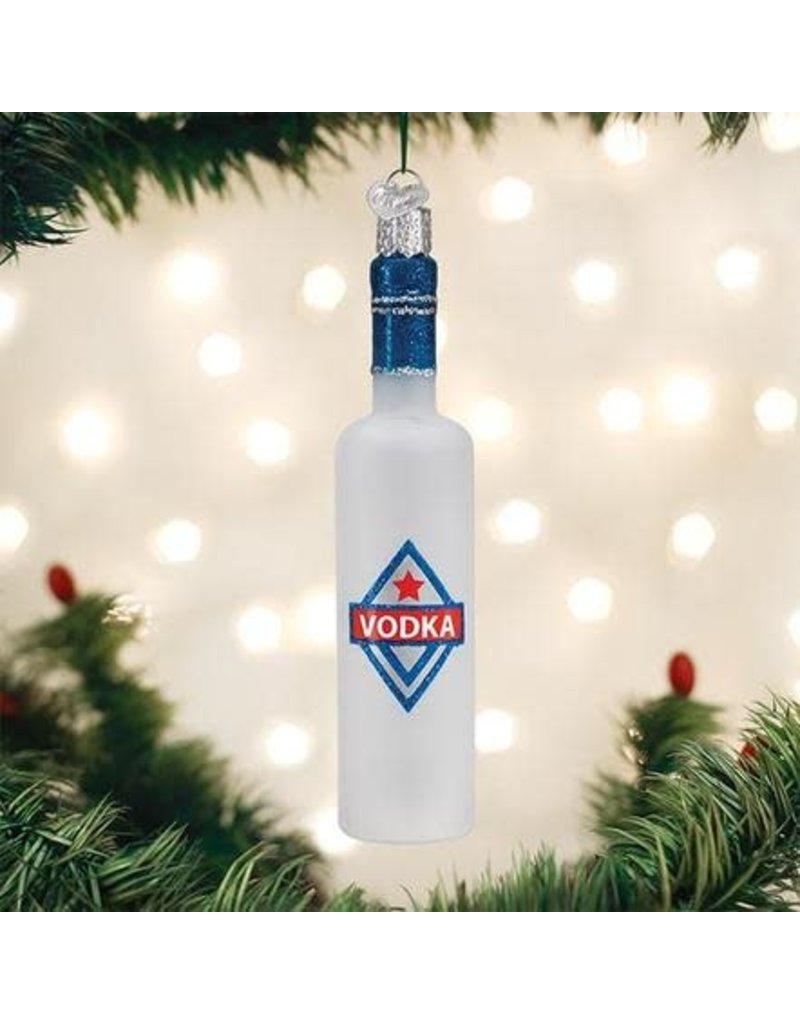 Old World Christmas Ornament Vodka Bottle