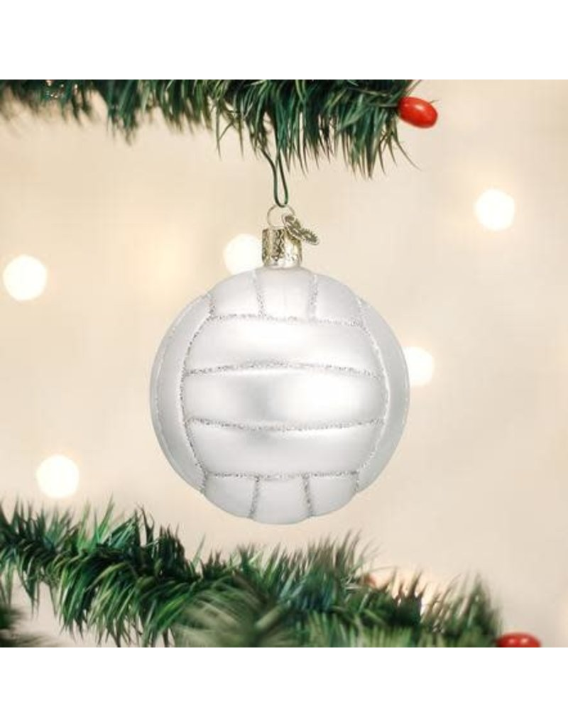 Old World Christmas Ornament Volleyball
