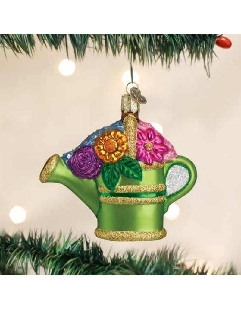 Old World Christmas Ornament Watering Can
