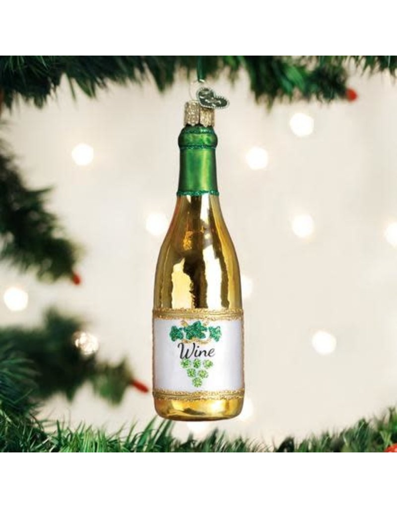 Old World Christmas Ornament White Wine