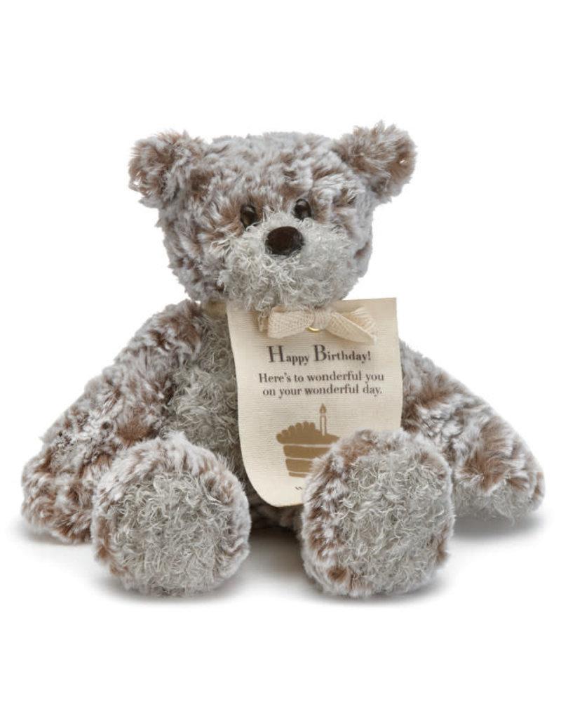 Demdaco Giving Bear Mini Happy Birthday