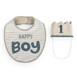 Birthday Hat/Bib Set Boy