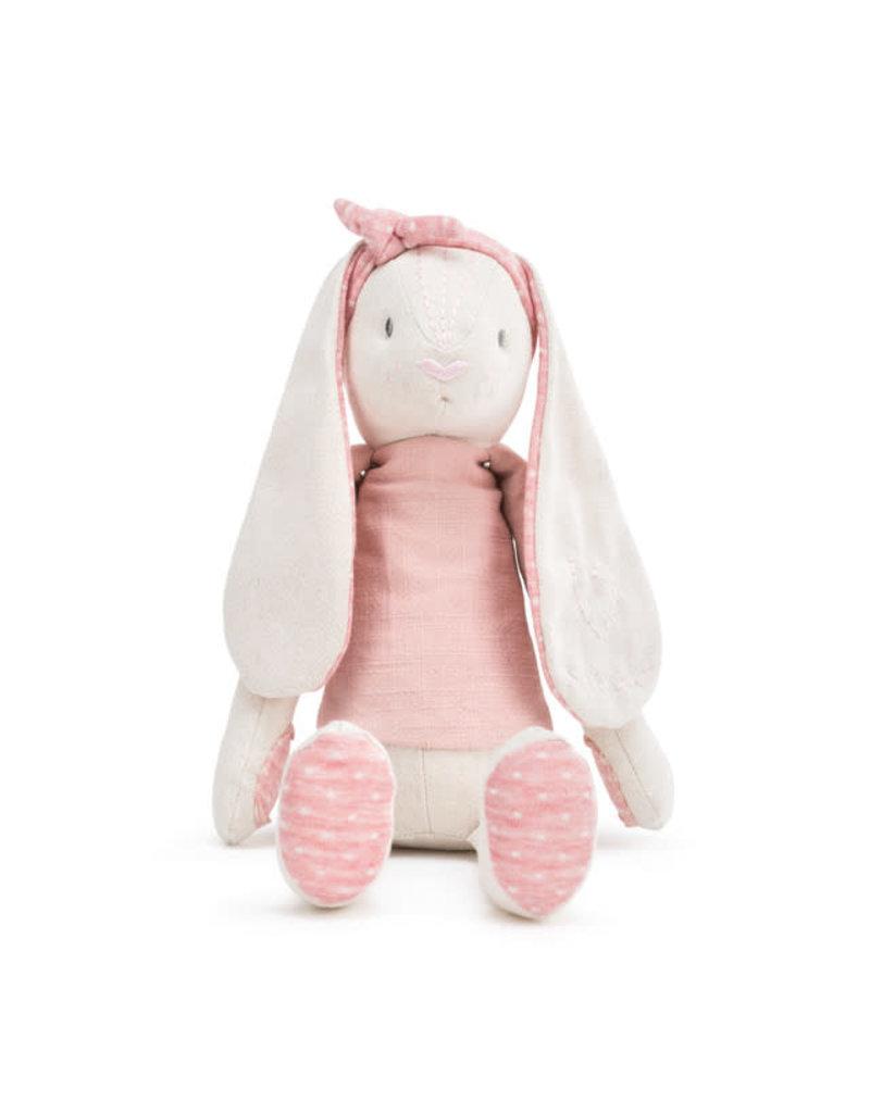 Linen Plush Pink Bunny