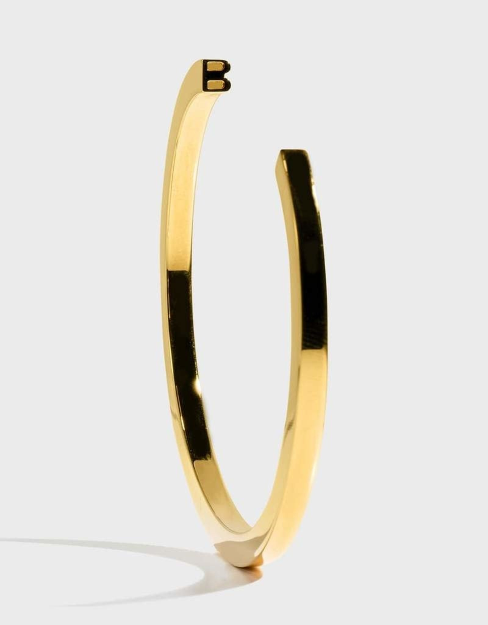 Stella Vale Initial Bracelet - B/Gold