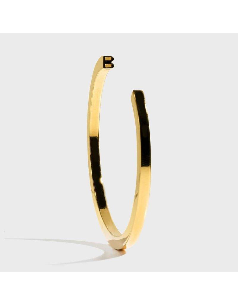 Initial Bracelet - B/Gold
