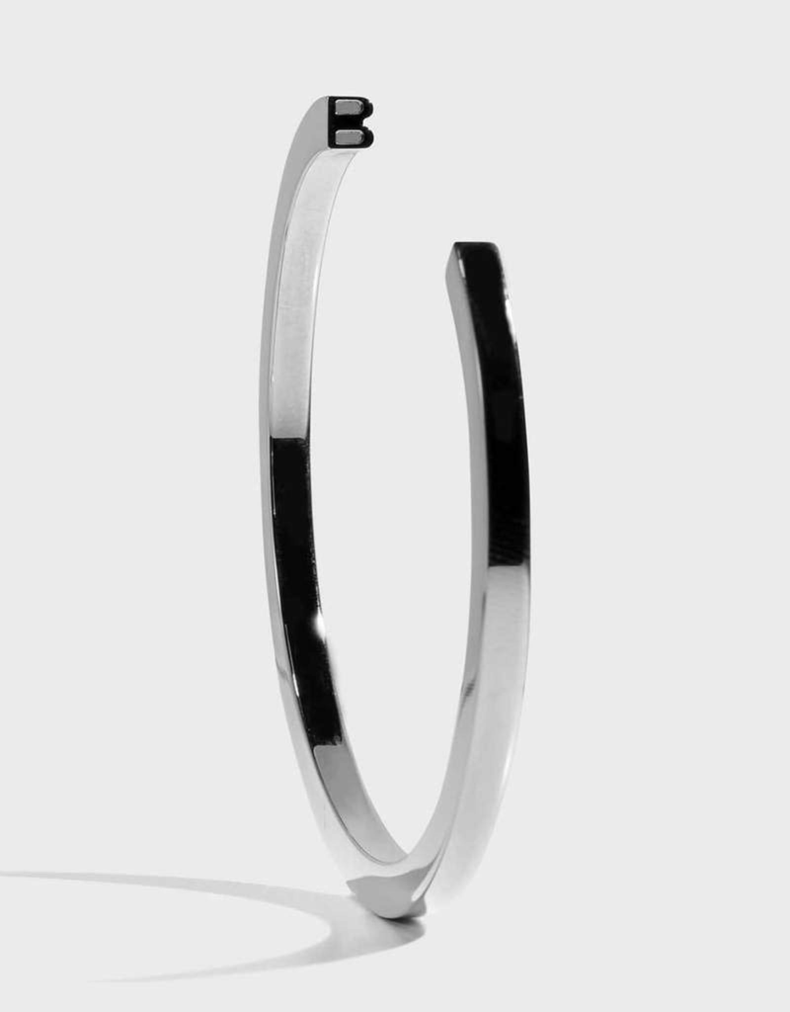 Stella Vale Initial Bracelet - B/SIlver