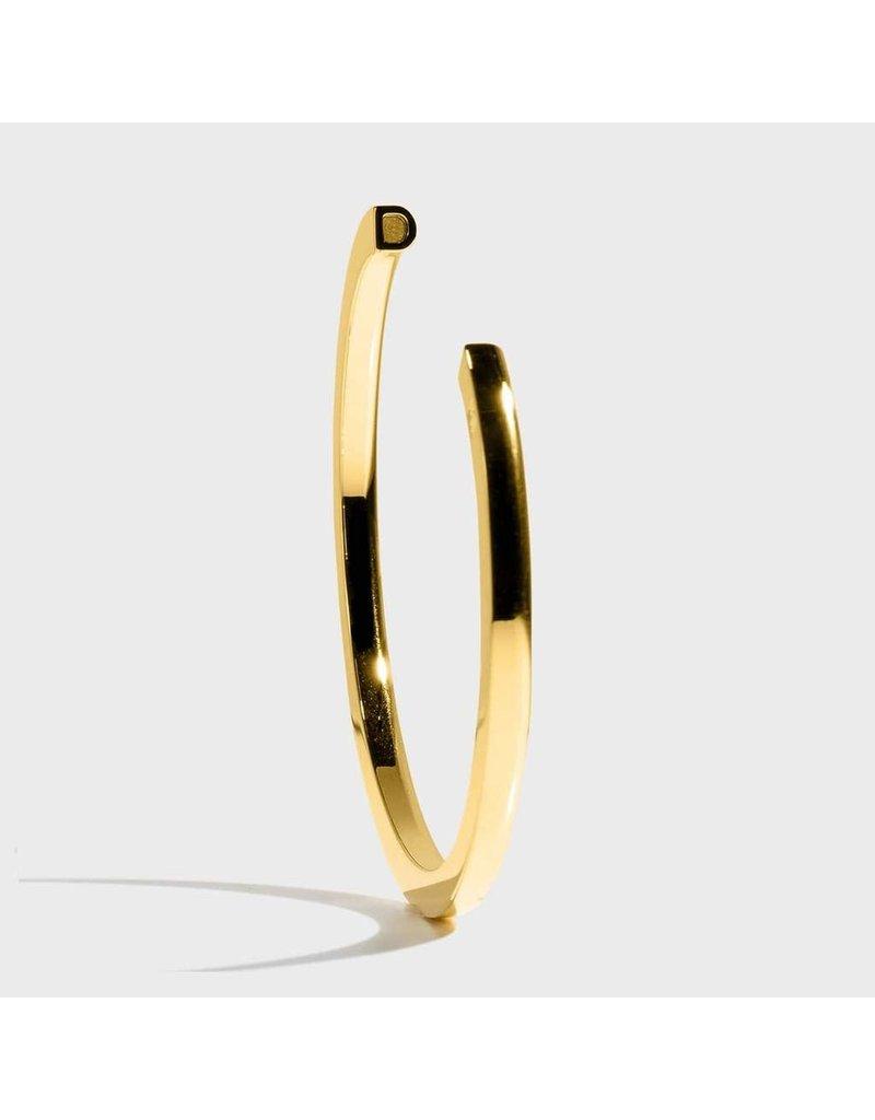 Initial Bracelet - D/Gold