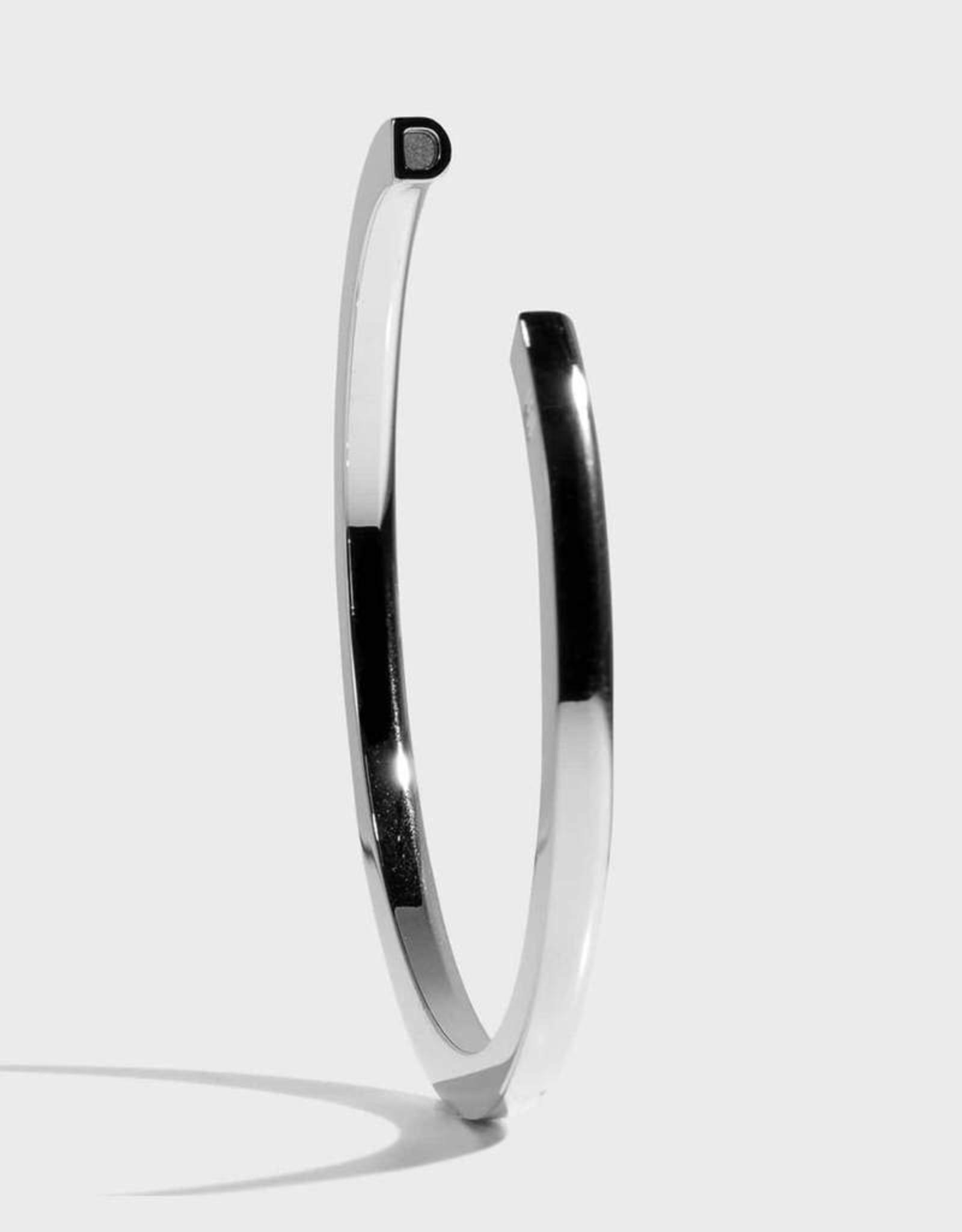 Stella Vale Initial Bracelet - D/Silver