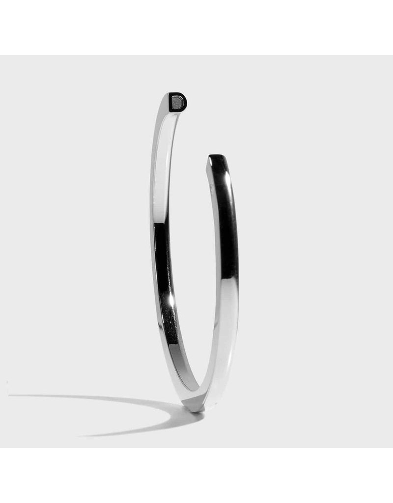 Initial Bracelet - D/Silver