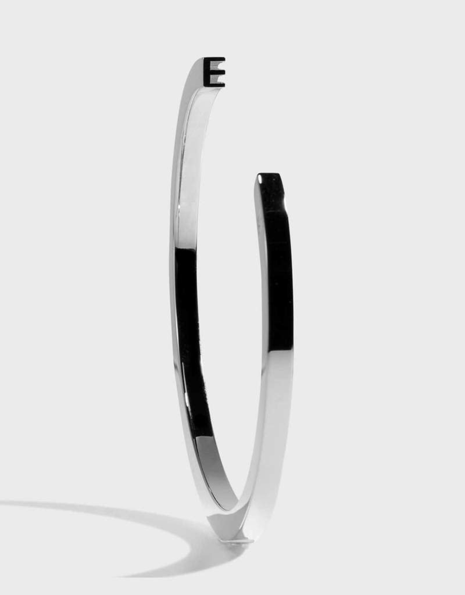 Stella Vale Initial Bracelet - E/Silver