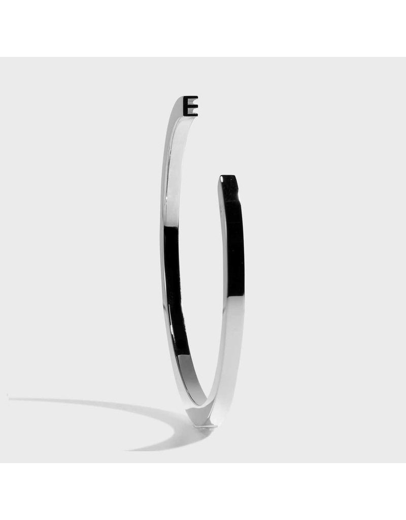 Initial Bracelet - E/Silver
