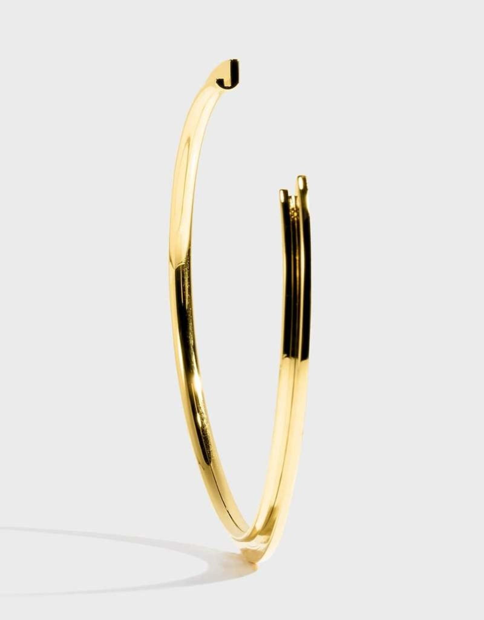 Stella Vale Initial Bracelet - J/Gold