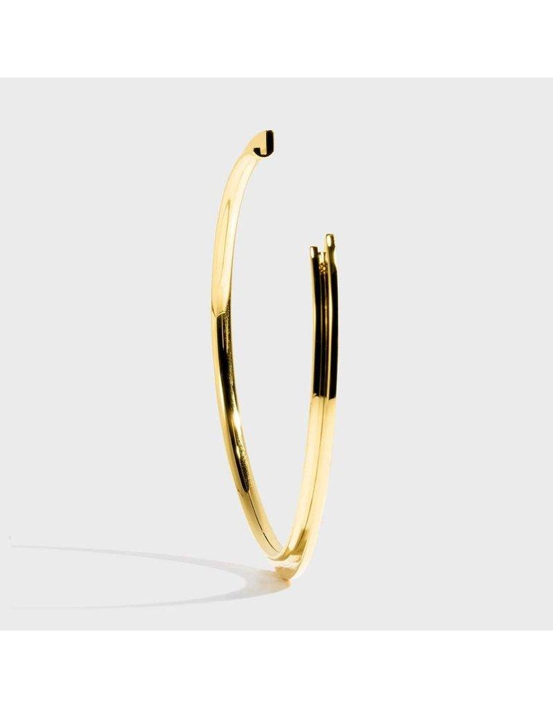 Initial Bracelet - J/Gold