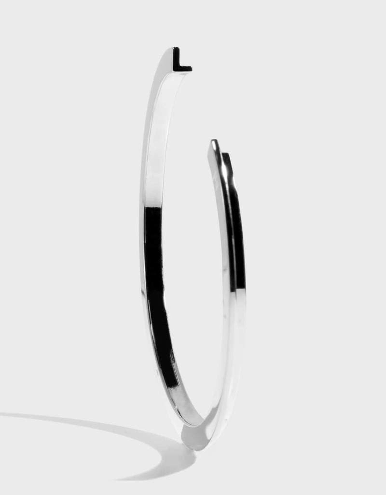 Stella Vale Initial Bracelet - L/Silver