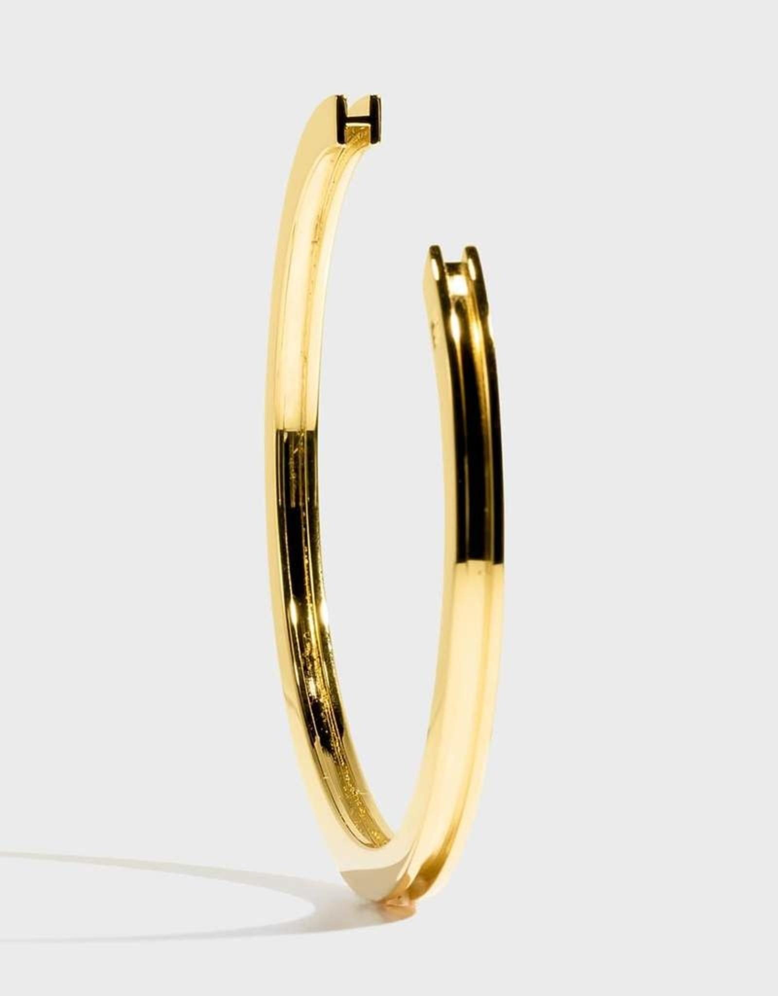 Stella Vale Initial Bracelet - M/Gold