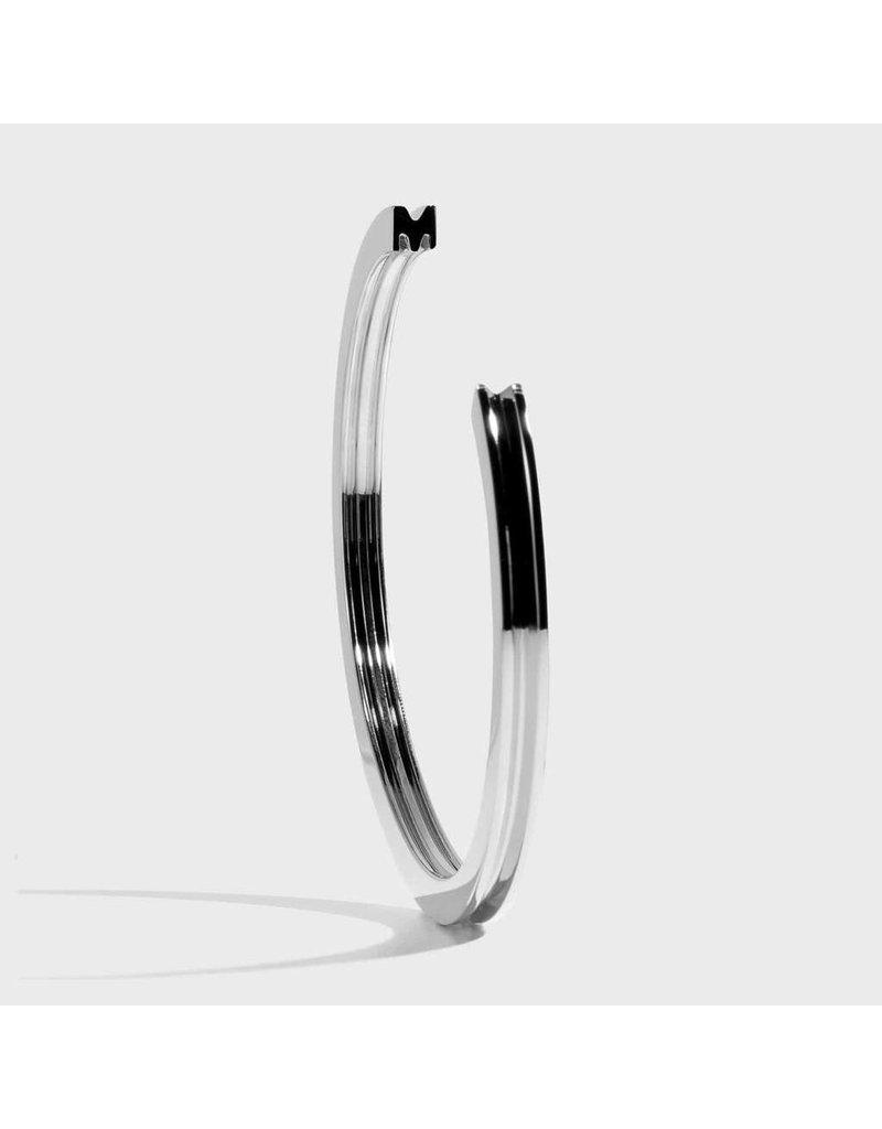 Initial Bracelet - M/SIlver