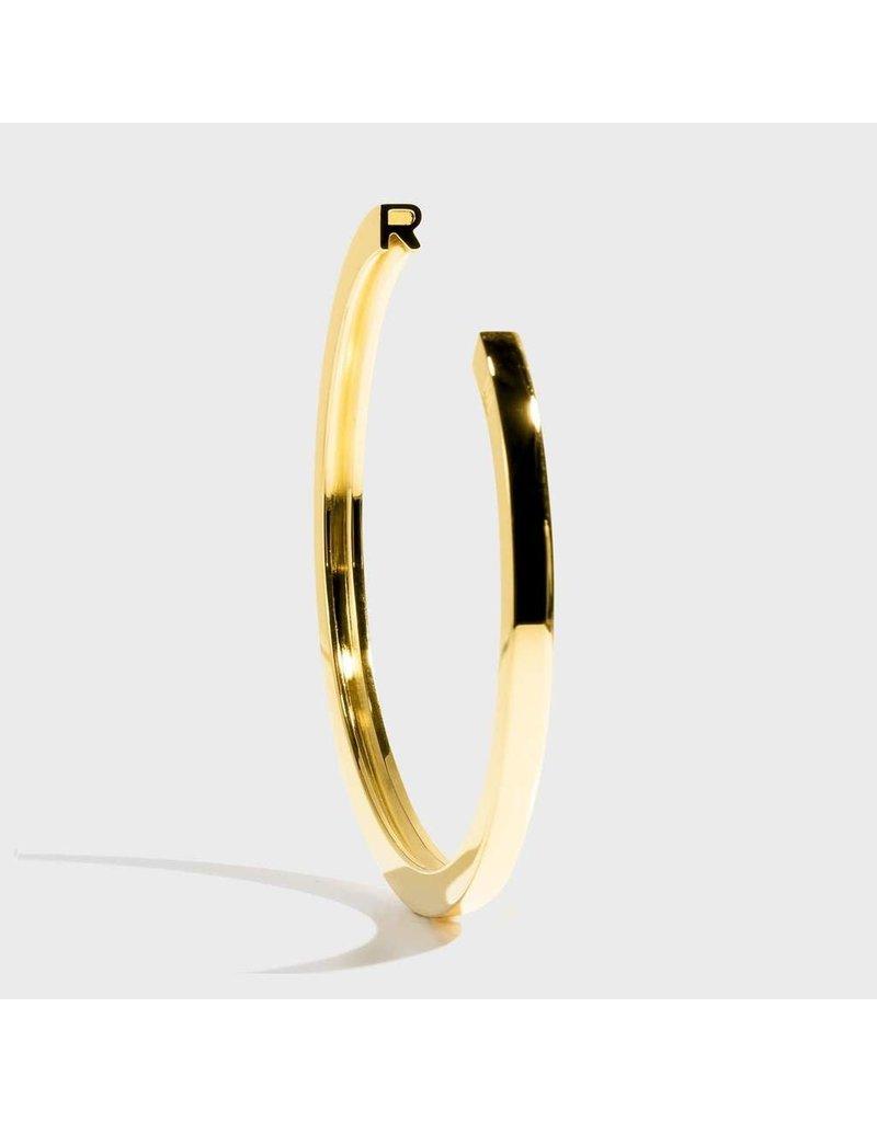 Initial Bracelet - R/Gold