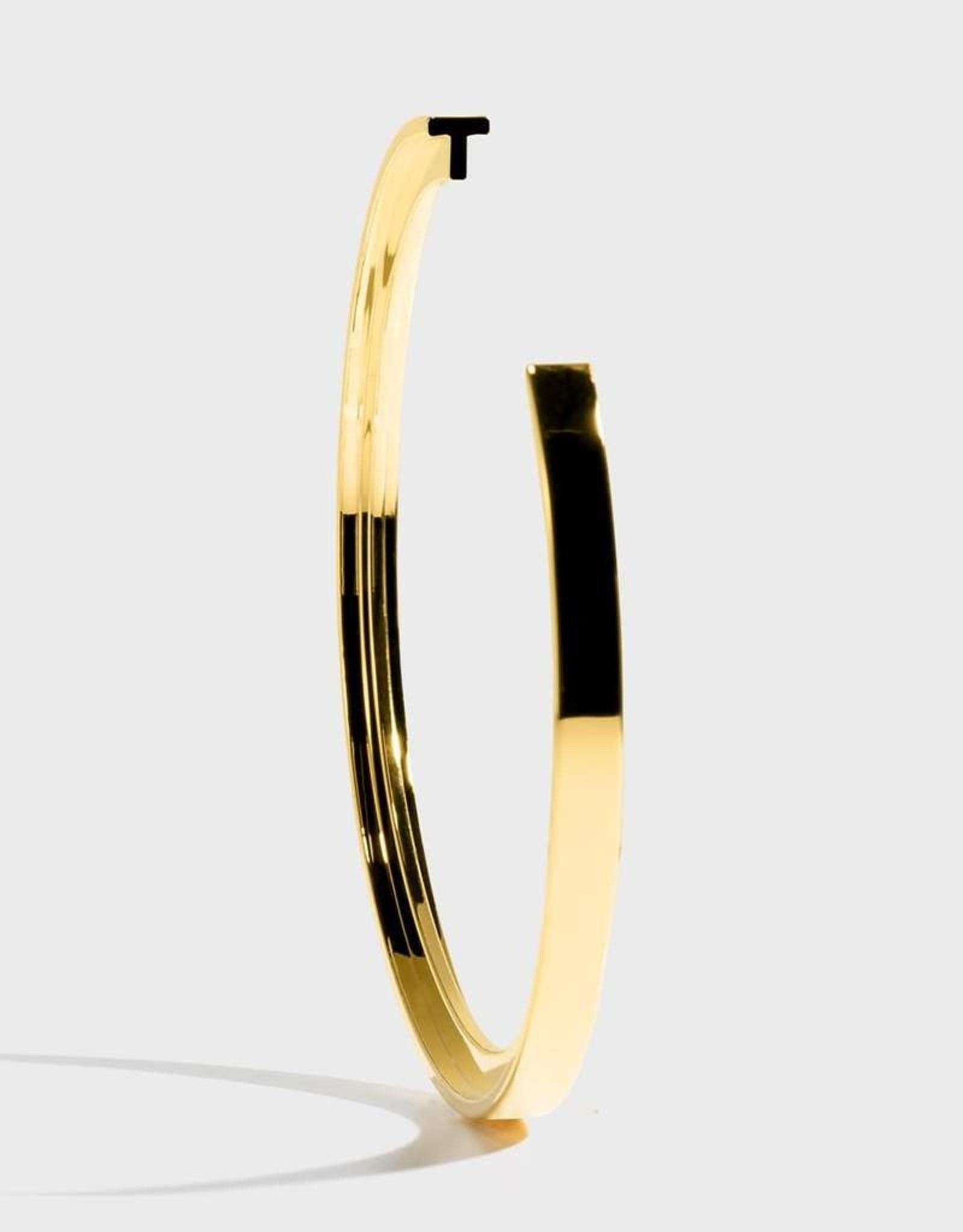 Stella Vale Initial Bracelet - T/Gold
