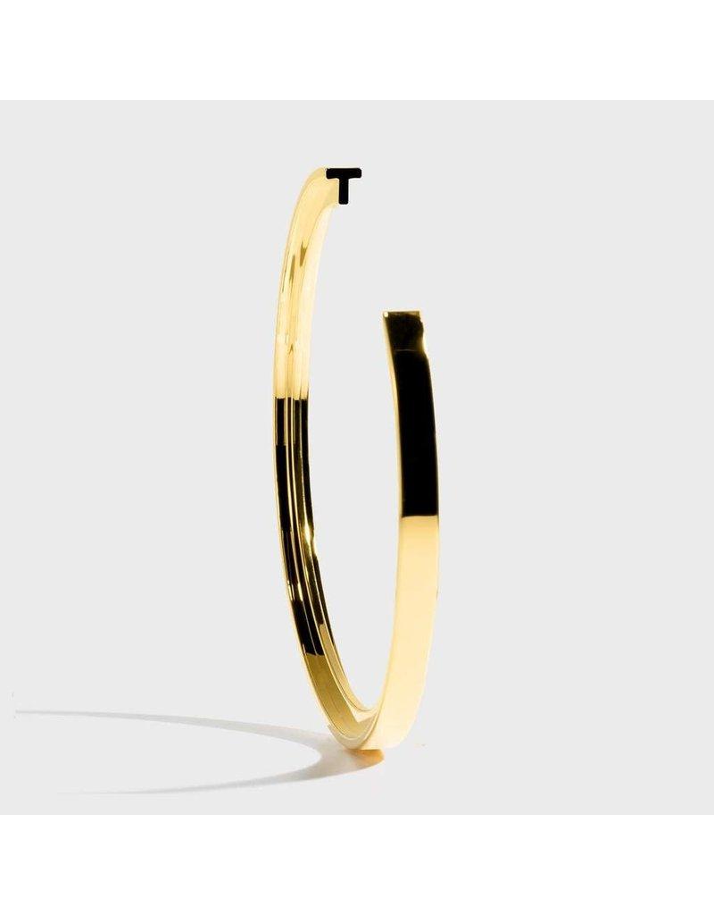 Initial Bracelet - T/Gold