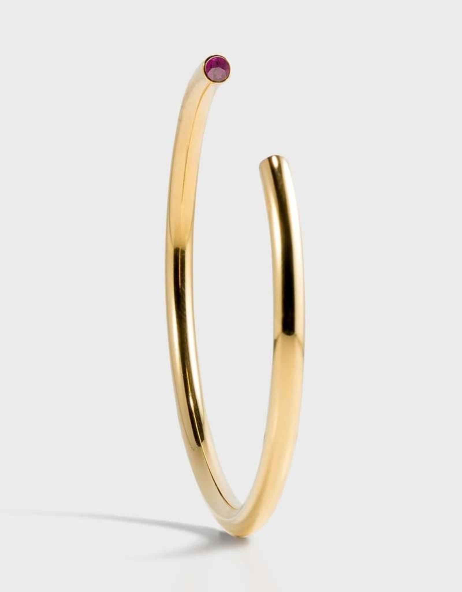 Stella Vale Birthstone Bracelet - February/Gold