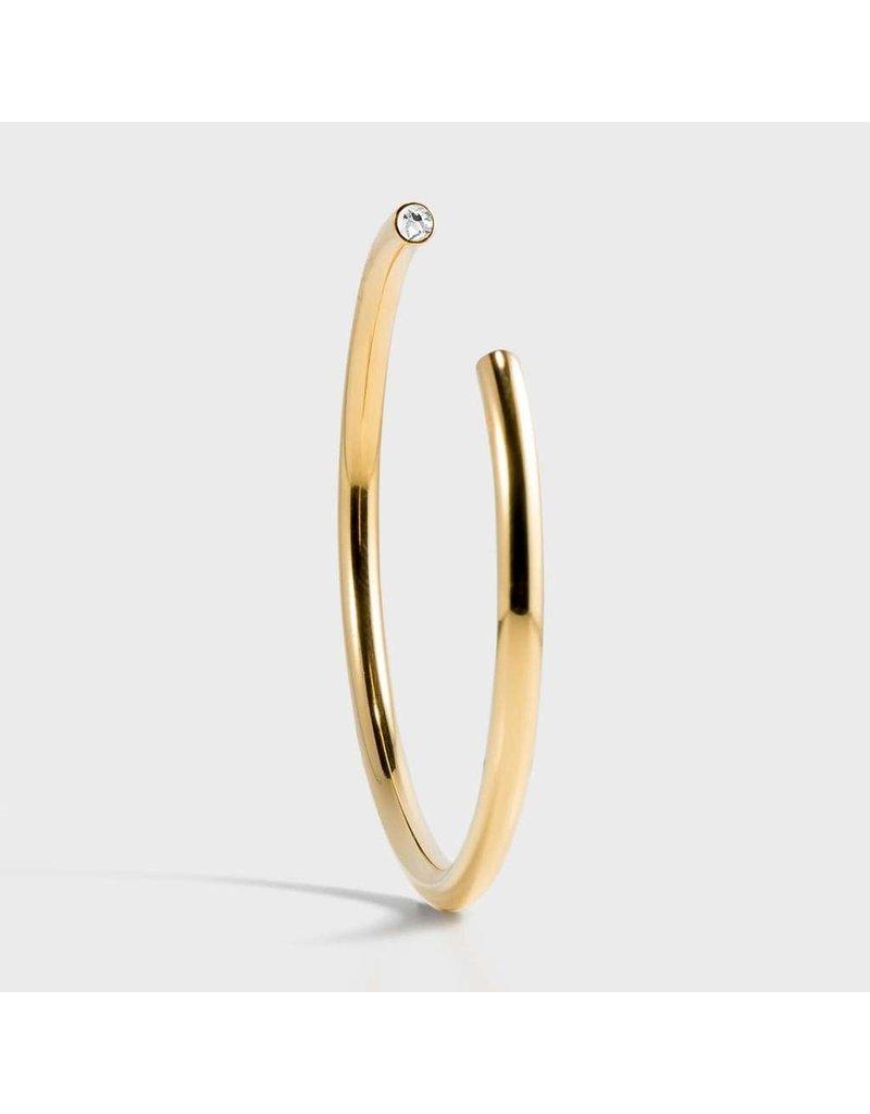 Birthstone Bracelet - April/Gold