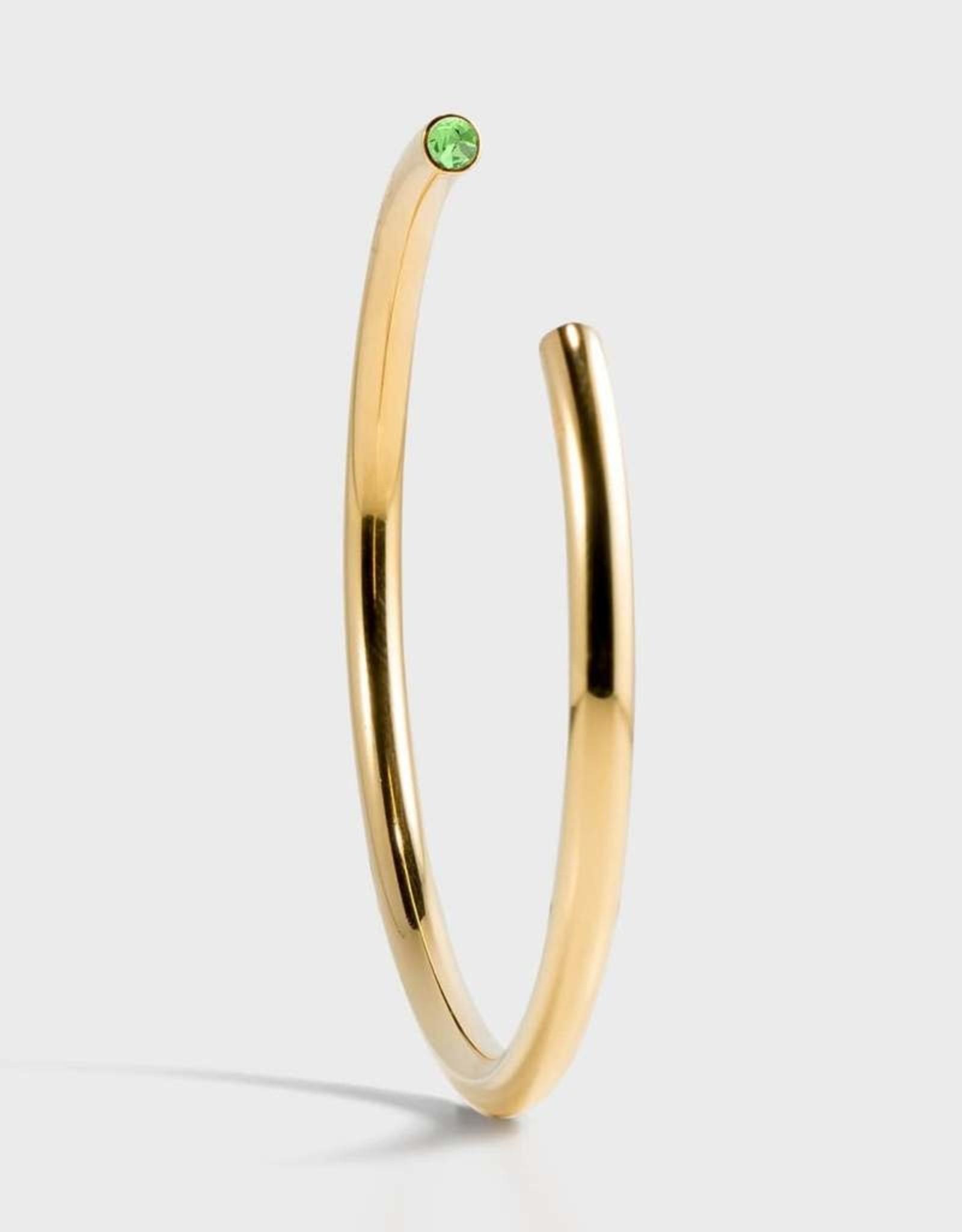 Stella Vale Birthstone Bracelet - August/Gold