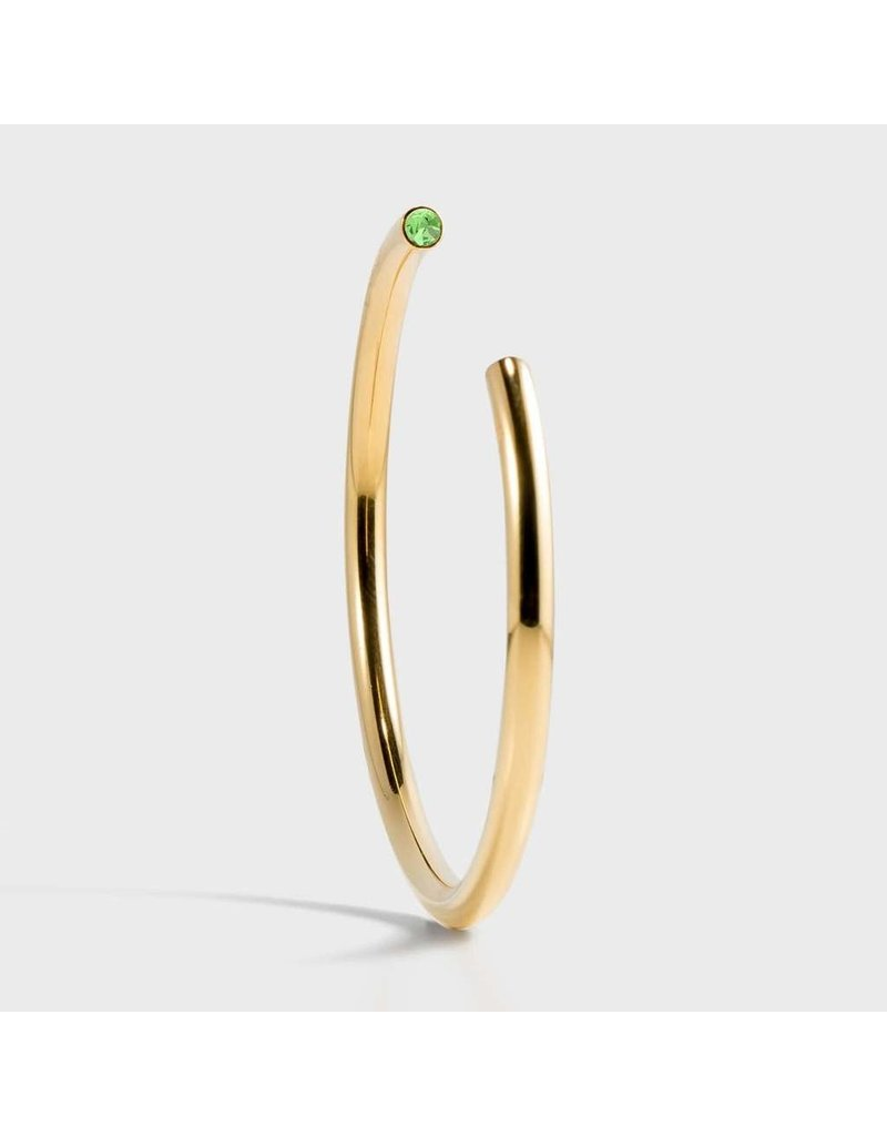 Birthstone Bracelet - August/Gold
