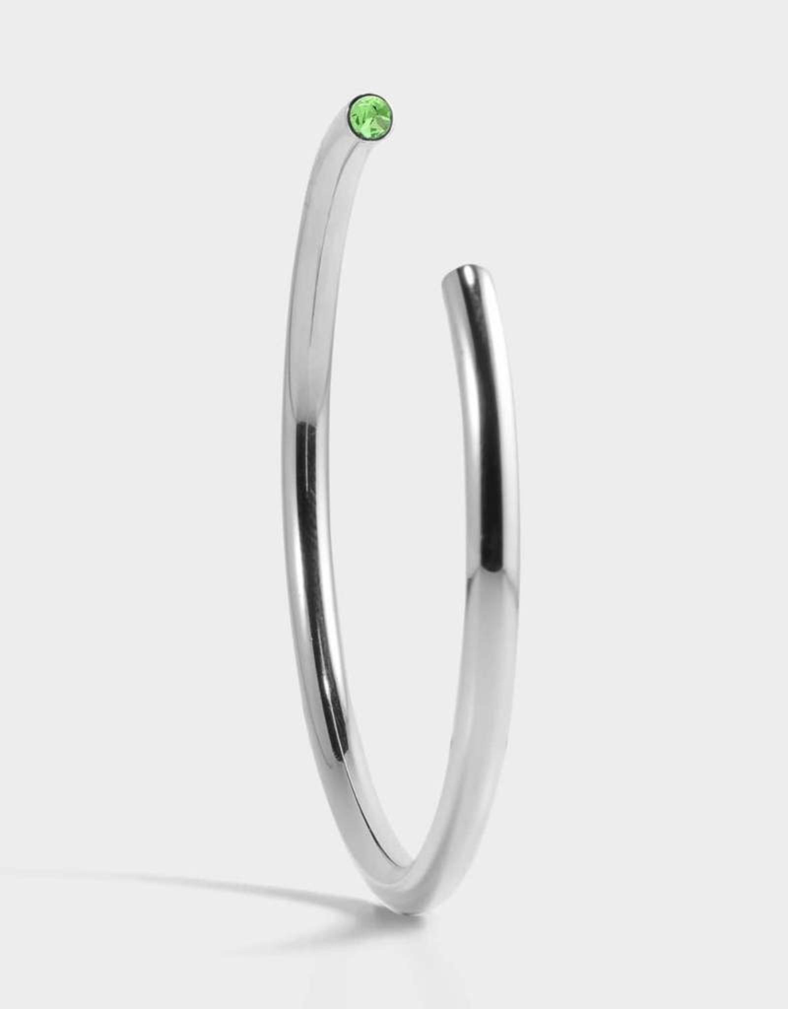 Stella Vale Birthstone Bracelet - August/Silver