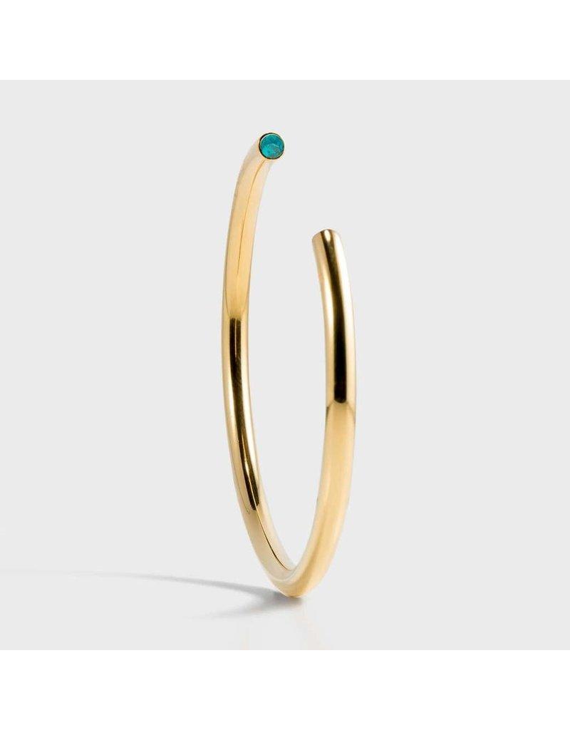 Birthstone Bracelet - December/Gold