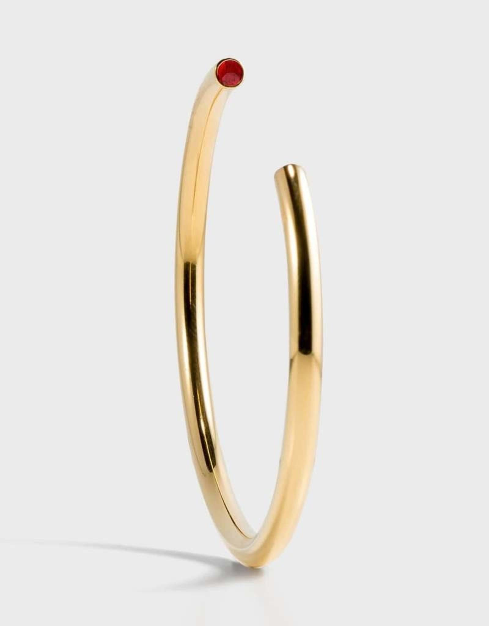 Stella Vale Birthstone Bracelet - July/Gold