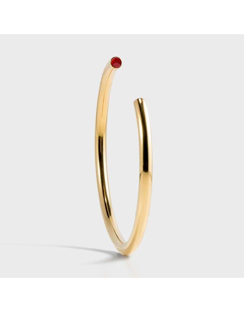 Birthstone Bracelet - July/Gold