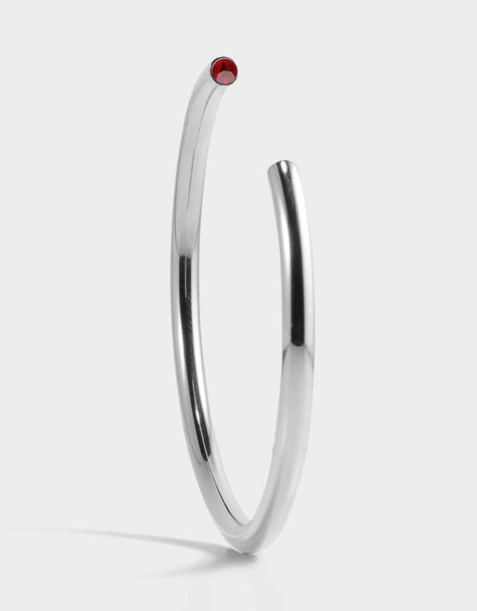 Stella Vale Birthstone Bracelet - July/Silver