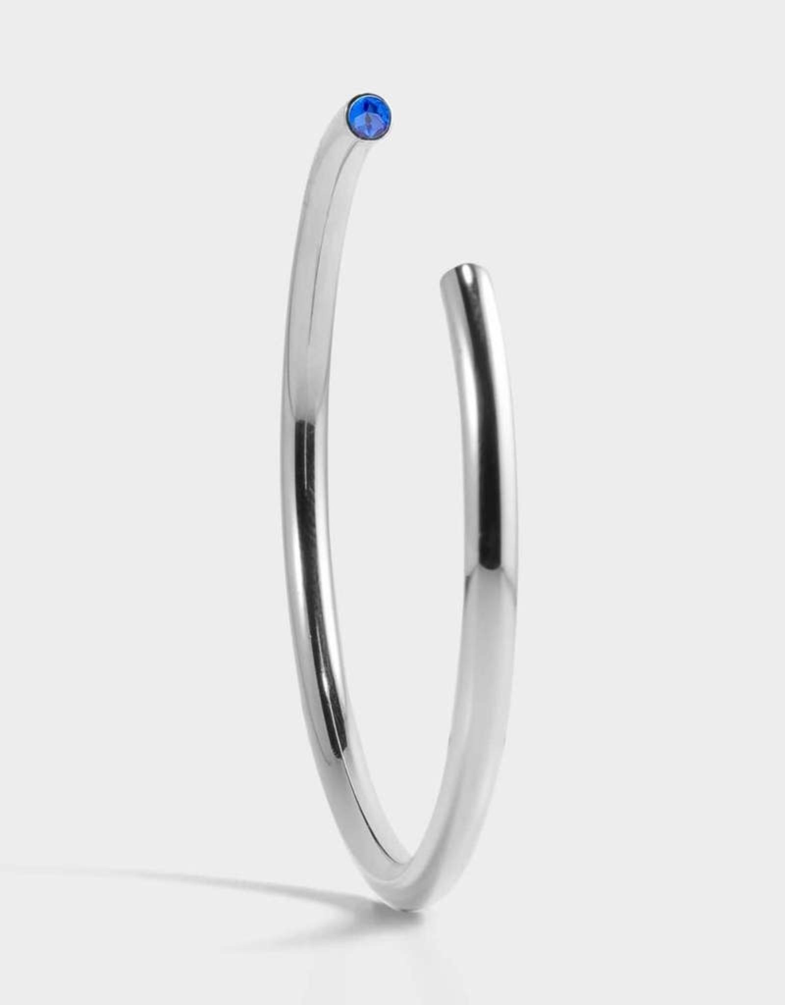 Stella Vale Birthstone Bracelet - September/Silver