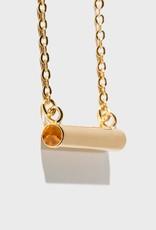 Stella Vale Birthstone Necklace - November/Gold