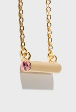 Stella Vale Birthstone Necklace - October/Gold