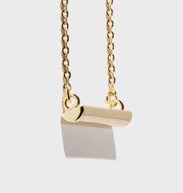 Stella Vale Symbol Necklace - Woman Warrior/Gold