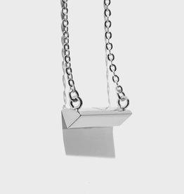 Stella Vale Symbol Necklace - Diamond/Silver