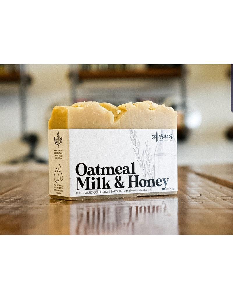 Cellar Door Soap Oatmeal Milk and Honey
