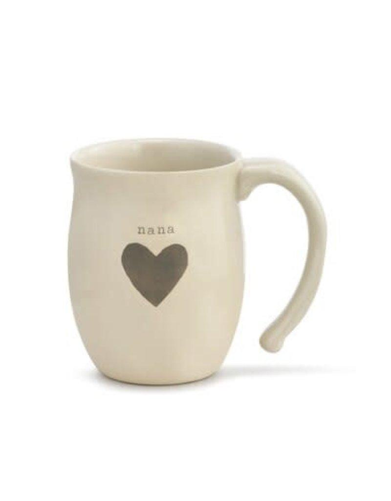 Demdaco Mug Nana Heart
