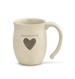 Demdaco Mug Heart Friendship