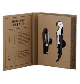 Heartfelt (Creative Brands) Cardboard Book Wine