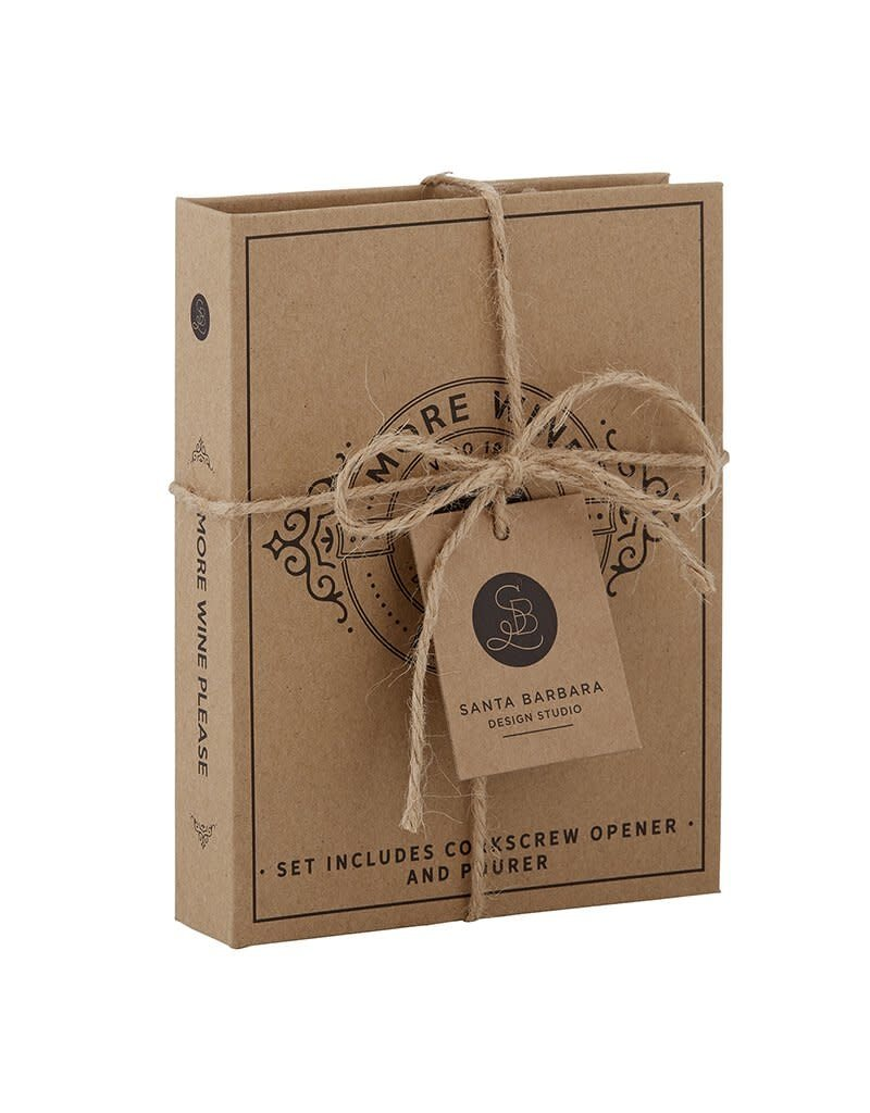 Cardboard Book Wine