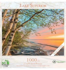 MI Puzzles (Phil Stagg Photography) 1000 Pc Puzzle Lake Superior