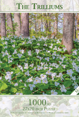 MI Puzzles (Phil Stagg Photography) 1000 Pc Puzzle Trilliums