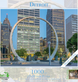 MI Puzzles (Phil Stagg Photography) 1000 Pc Puzzle Detroit