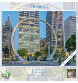 1000 Pc Puzzle Detroit