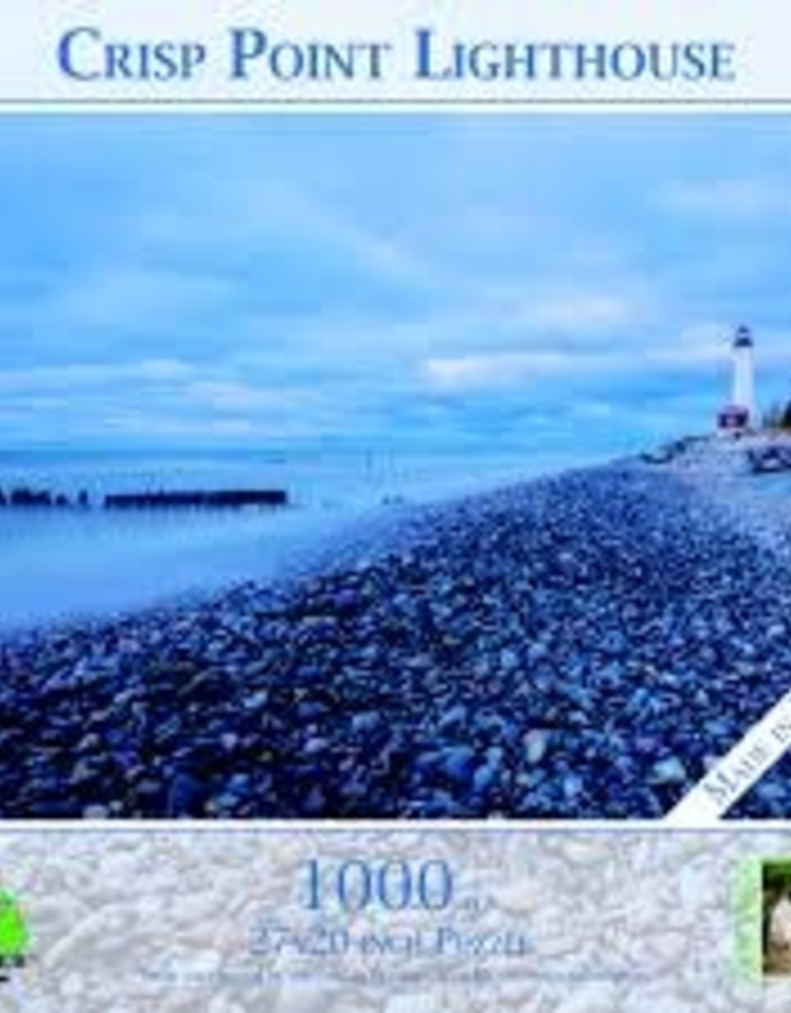 MI Puzzles (Phil Stagg Photography) 1000 Pc Puzzle Crisp Point Lighthouse