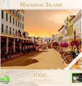 MI Puzzles (Phil Stagg Photography) 1000 Pc Puzzle Mackinac Island Main Street