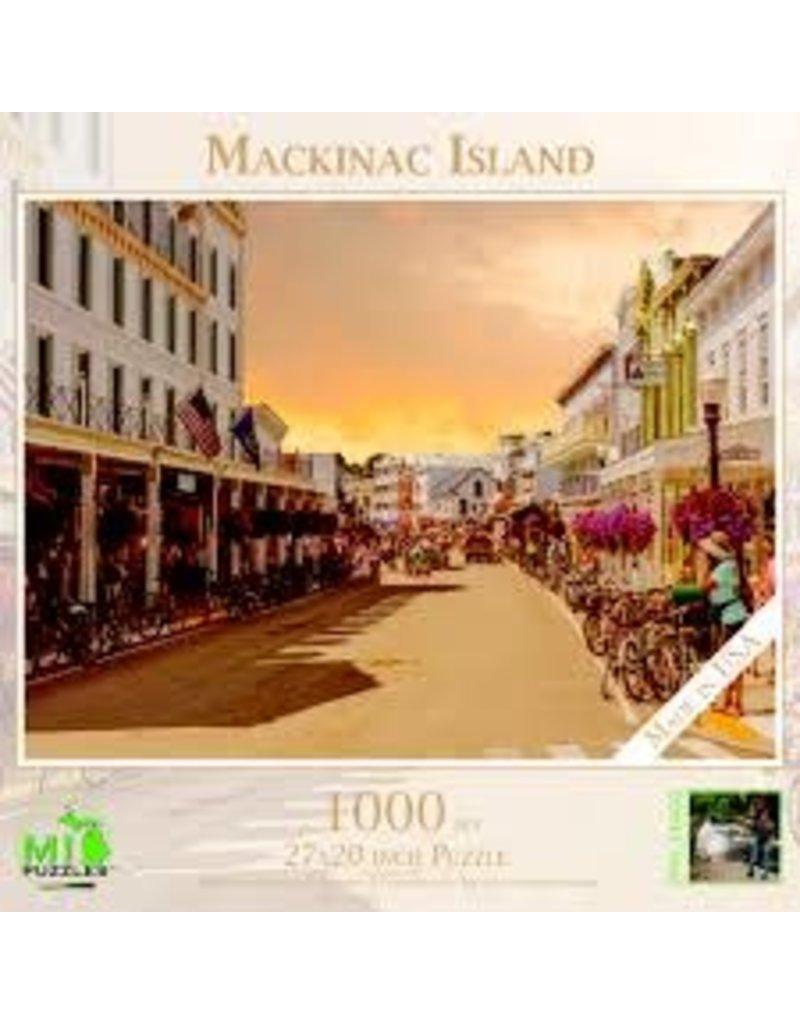 1000 Pc Puzzle Mackinac Island Main Street